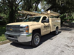 Bonded Lightning Protection Truck