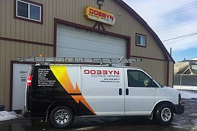 Dobbyn Lightning Protection Truck