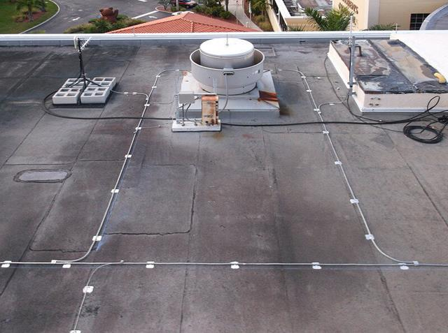 Commercial Amp Industrial Lightning Protection System Photos