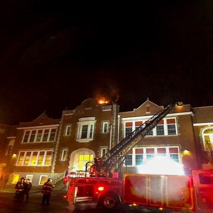 Hempstead School Fire