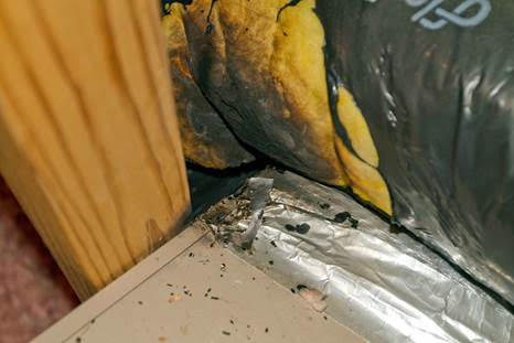 Most of the damage was caused to the HVAC unit, some melting occured.